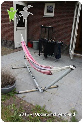 Hangmat Met Stevig Frame.Hangmat Op Stevig Onderstel Amazonas Oud Roze Umecom B V