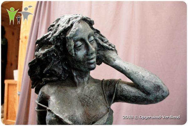 Favoriete Bronzen Beeld / Summertime (Marianne Houtkamp) op Zuil » Umecom B.V. #RQ71